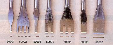 Thonging Chisel 3 mm (1 Prong)